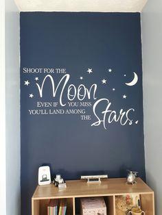 Boy Toddler Bedroom, Toddler Rooms, Kids Bedroom, Bedroom Themes, Bedroom Ideas, Nursery Ideas, Outer Space Bedroom, Galaxy Room, Boy Room Paint