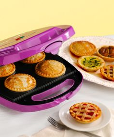 Purple Mini Pie Maker