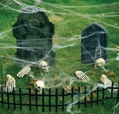 Inexpensive halloween decor