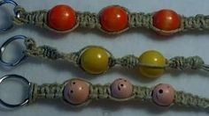 How to Macrame, Basic Knots, Make a Key chain or a Bracelet Day 27 (Item ID: 325913, End Time : N/A) - DIY Lessons - Learn Jewelry Making With Online Lessons, Videos and PDF Tutorials