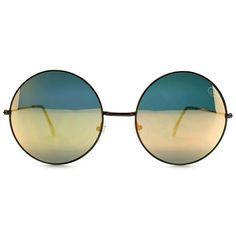 Quay Australia Dynasty Sunglasses in Copper/Gold