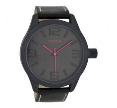 OOZOO Timepieces Zwart/Roze C6409 (46MM) online kopen? Op werkdagen voor 22:30 besteld, volgende dag in huis. Gratis verzending en achteraf betalen!