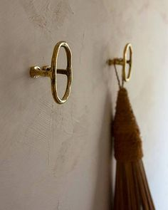 Bathroom Hardware, Brass Hardware, Brass Bathroom Fixtures, Towel Hangers For Bathroom, Kitchen Hardware, Tie Back Hooks, Jewelry Hooks, Brass Hook, Brass Coat Hooks