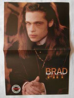 Brad Pitt Take That Big Poster Greek Magazines clippings 1970s 1990s | eBay