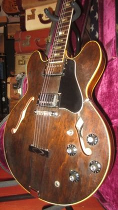#Vintage #1973 #Gibson #ES-335 Walnut > #Guitars : Electric Semi-Hollow Body - Rivington Guitars | Gbase.com