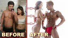 Couples Weight Loss Transformation Before & After Pictures ✔