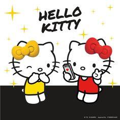 Hello Kitty & Mimmy:)