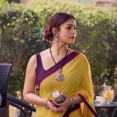 Nayanthara In Saree, Bollywood Designer Sarees, Satin Saree, Simple Sarees, Fashion Vocabulary, Vogue India, Dress Indian Style, Indian Beauty Saree, Saree Styles