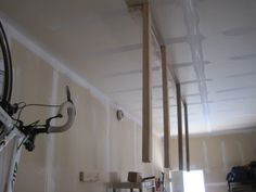 attach support beams to roof beams