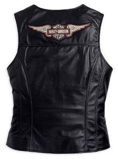 Harley Davidson Clothing For Women Clearance | Harley-Davidson Leather Vest : Harley Davidson Jackets, Vintage Mens ...