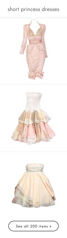 """short princess dresses"" by missherjh ❤ liked on Polyvore featuring dresses, gowns, short dresses, vestidos, mini dress, pink dress, alexander mcqueen dresses, short pink dress, pink mini dress and satinee"