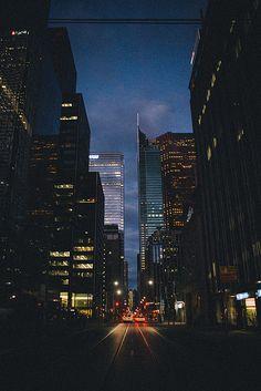 Toronto by night, Canada
