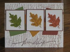leaves of Friendship by Durham Stamper - Cards and Paper Crafts at Splitcoaststampers