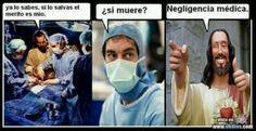 Adivina de quien es el mérito si el médico te salva de la muerte