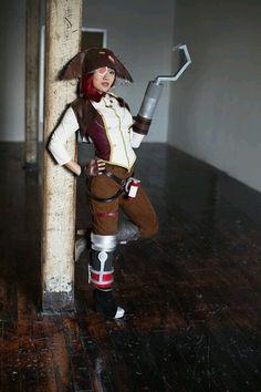 Captain Scarlett. Borderlands 2