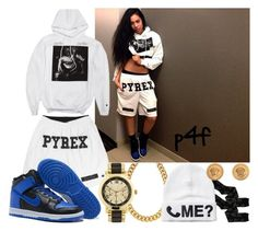 """Passion 4Fashion: Pyrex"" by shygurl1 ❤ liked on Polyvore featuring Patagonia, Signature Gold, Pyrex, HUF, NIKE, ALDO, Monki and Versace"