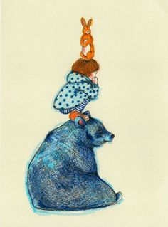 Brushstrokes in the world: The illustrations Lucia Franco