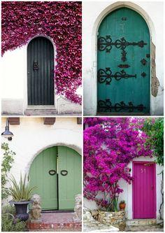 Ha a romantikus dolgok híve vagy, ezek az ajtók biztosan neked is tetszenek…