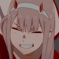 anime icon: zero two - - Anime Neko, Otaku Anime, Chica Anime Manga, Kawaii Anime Girl, Anime Art, Anime Girl Pink, Anime Love, Cute Anime Pics, Anime Guys