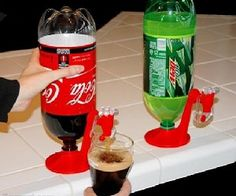 Cool Idea For Tailgating. Soda Dispenser