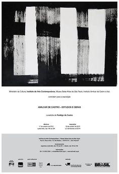 """O Instituto de Arte Contemporânea apresenta ao público """"Amilcar de Castro – Estudos e obras"""". Com curadoria de Rodrigo de Castro, filho do artista, a exposição valoriza a trajetória do artista mineiro Amilcar de Castro (1920-2002), a partir de documentos, estudos, registros de ideias, pinturas e esculturas."""