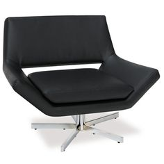 Yield Black 40 Inch Wide Chair