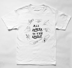 All Power to All the People tee | Small Spells