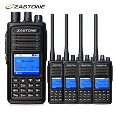 4PCS Zastone D900 Walkie Talkie DMR Digital Radio VHF 136-174MHz 5W Portable CB Ham Radio Communication Equipment #Affiliate