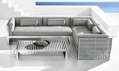 Why Teak Outdoor Garden Furniture? Iron Furniture, Furniture Covers, Home Decor Furniture, Sofa Furniture, Furniture Making, Garden Furniture, Furniture Design, Modern Outdoor Furniture, Outdoor Sofa