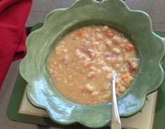 Mystery Lovers' Kitchen: Grandma Mary's Bean Soup #Recipe @PegCochran