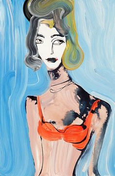 Cool Chic Style Fashion: Tanya Ling : Fashion illustrations from Vogue UK