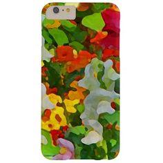 Flower Garden Colors iPhone 6 Plus Case