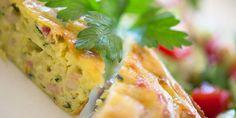 zucchini slice - a Julie Goodwin recipe