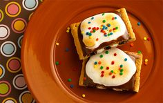 Whether you're camping out or just hanging out, marshmallow crème, sprinkles and Pop-Tarts® S'Mores toaster pastries make this the ultimate treat.
