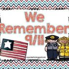 We Remember 9/11 for Little Learners(Freebie)