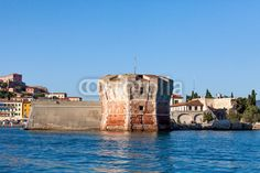 Stock photo available for sale at Fotolia: Linguella Tower, Portoferraio, Elba Island