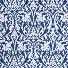 Onyx by Greenhouse Fabrics Outdoor Upholstery Fabric, Drapery Fabric, Outdoor Fabric, Sunbrella Fabric, Blue And White Fabric, Blue Fabric, White Fabrics, Fabric Patterns, Print Patterns