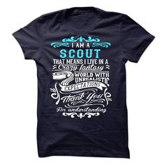 I Am A Scout - #college gift #novio gift. BUY TODAY AND SAVE => https://www.sunfrog.com/LifeStyle/I-Am-A-Scout-49792093-Guys.html?68278