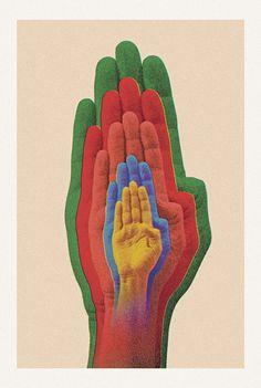 Na mistura do design gráfico maluco, com imagens abstratas e muita psicodelia o artista Bruno Borges, do Tumblr Pena Branca, já fez incríveis trabalhos e parcerias comBrandon Boyd,DISfunkshion Magazine, Three Arrows Leather,Sugar High + Love Stoned.