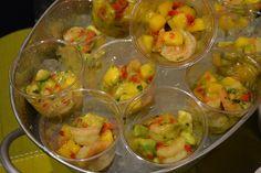 Tex Mex shrimp cocktail for tapas party