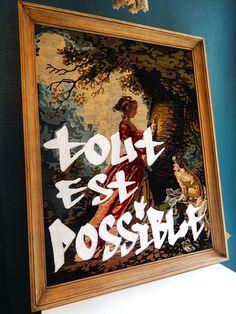 """Canvas """"Les Bricoleuzes"""""""