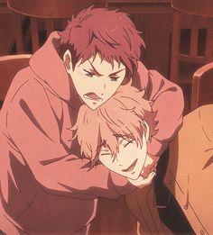 Asahi and Kisumi are my ideal friendship aesthetic Aesthetic Themes, Aesthetic Anime, Splash Free, Free Eternal Summer, Free Iwatobi Swim Club, Free Anime, Manga Games, Guys And Girls, Kawaii Anime
