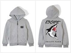 This basic sweater jacket is a classic and should definitely not be missed in any fashionable boys' wardrobe. #PhilippPleinKids   http://www.boudifashion.com/kids/philipp-plein-escape-hooded-jacket.html  #BoudiFashion #Kids #KidsCollection #Hoodie #HoodedJacket #DesignerFashion #Escape #Sweater #Classic #Fashionable