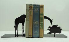 Giraffe bookend by Knob Creek Metal Arts