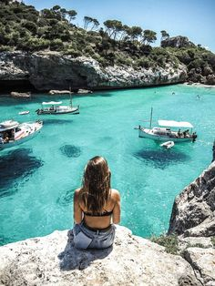 The Best Hotels And Beaches In Mallorca, Spain | Find more Spain Inspo and guides (including brunch spots & Instagrammable locations) on littleblackshell.com  IG: @littleblackshell