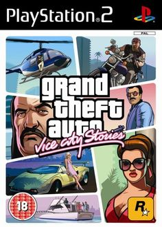 Grand Theft Auto: Vice City Stories (PS2): Grand Theft Auto: Amazon.co.uk: PC & Video Games