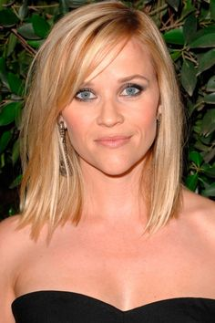 Reese Witherspoon's Choppy Blonde Locks - Hairstyles For Fine Hair