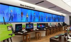 Global Leading Brand in Retail Merchandising Display & Fixture Solutions for Electronic Store Microsoft, Tv Display, Furniture Factory, Merchandising Displays, Learning Games, Europe, How To Plan, Interior, Retail Stores