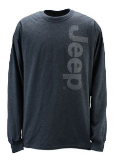 Jeep Gear: Product'Ultra Cotton Long Sleeve Tee'