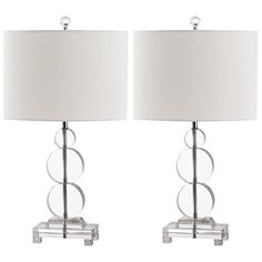 Safavieh Lighting Collection Moira Crystal 23inch Table Lamp Set of 2 * To view further for this item, visit the image link.